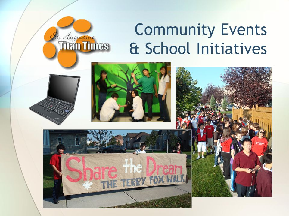 Community Events & School Initiatives