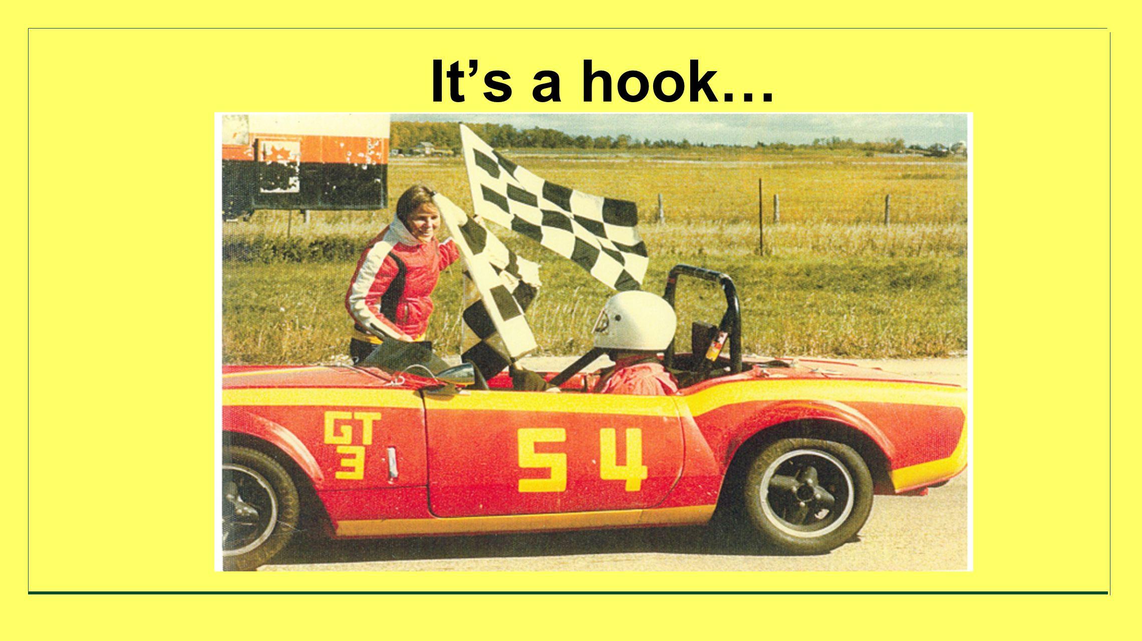 Its a hook…