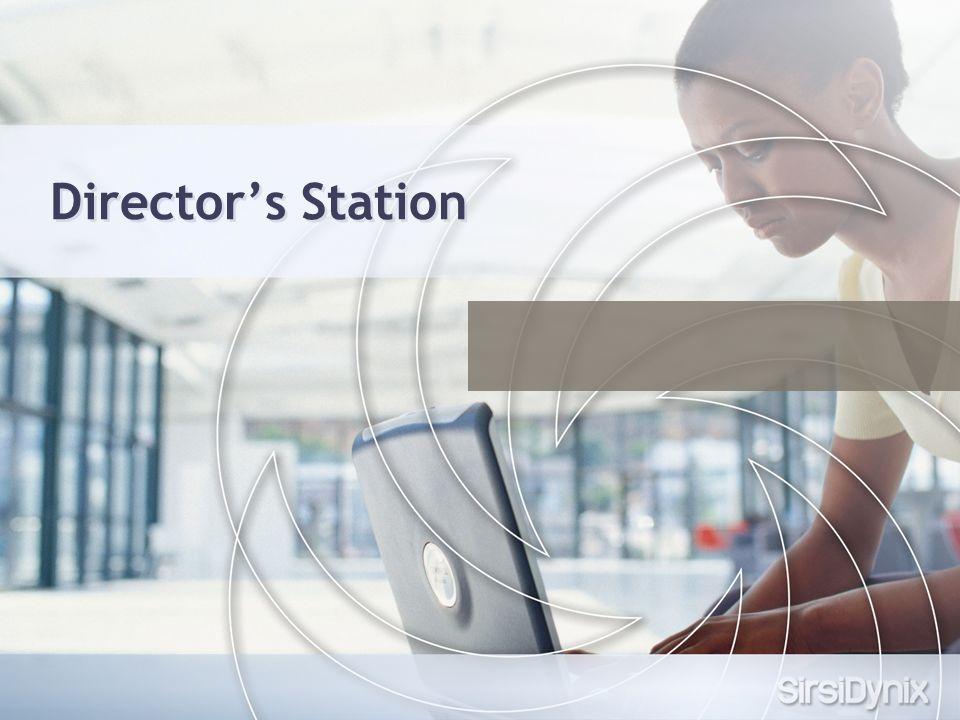 Directors Station