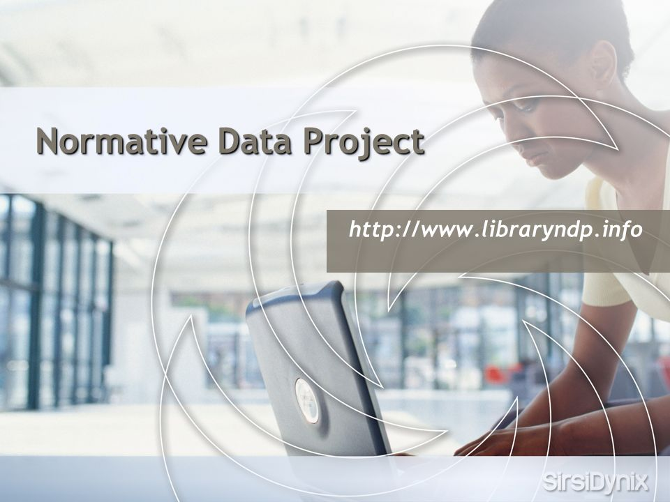 Normative Data Project http://www.libraryndp.info