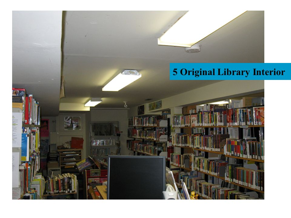 5 Original Library Interior