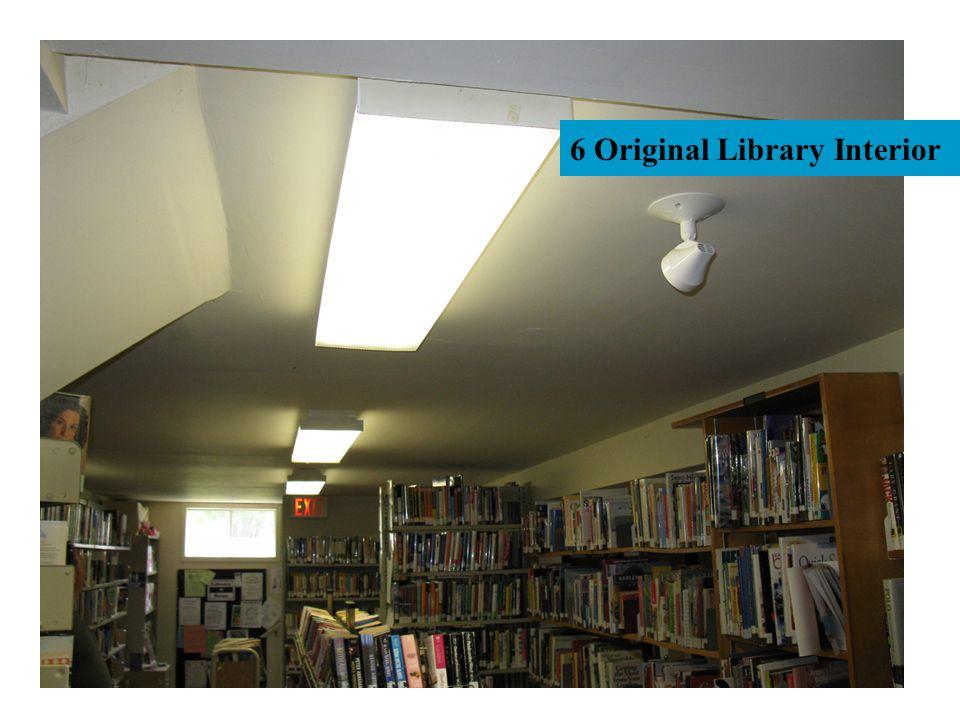6 Original Library Interior
