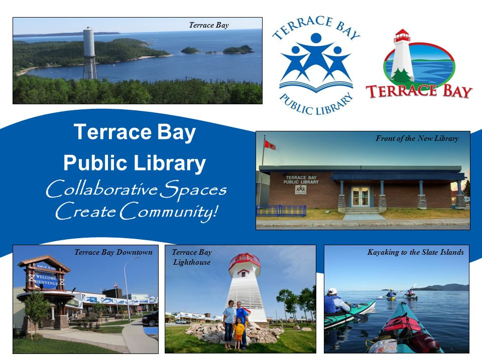 Terrace Bay Public Library Collaborative Spaces Create Community.