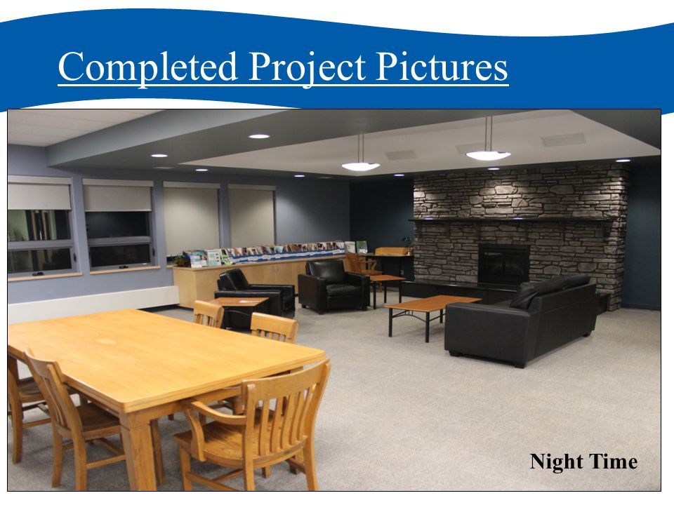 Completed Project Pictures Night Time