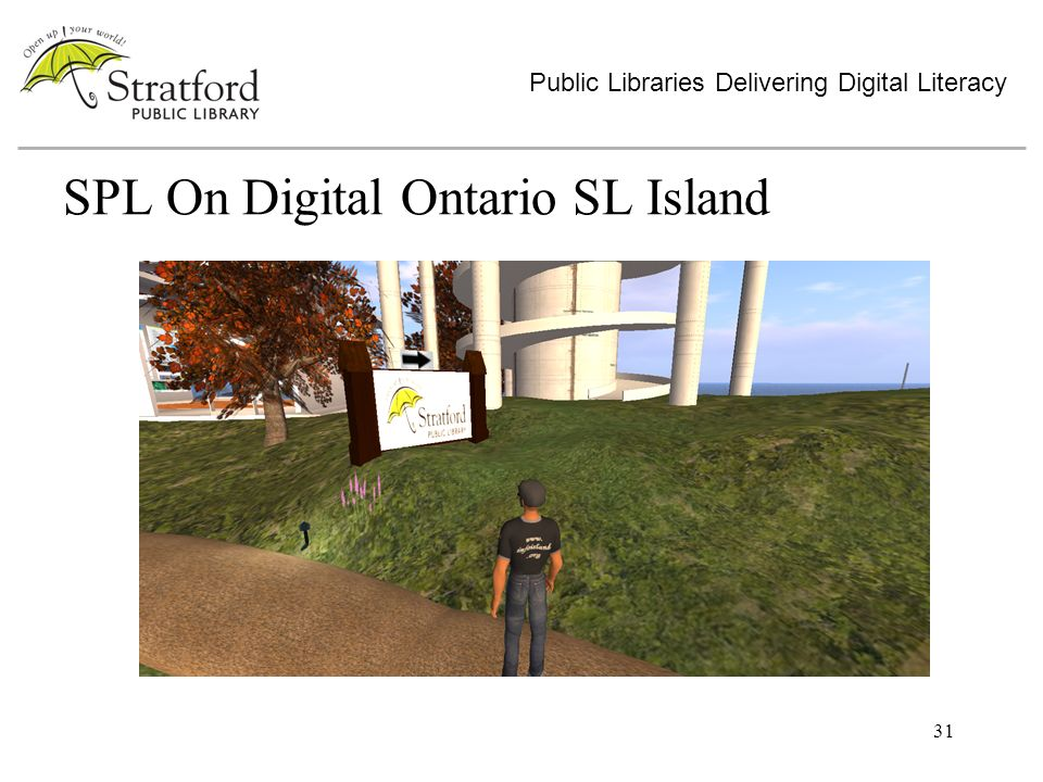 31 SPL On Digital Ontario SL Island Public Libraries Delivering Digital Literacy