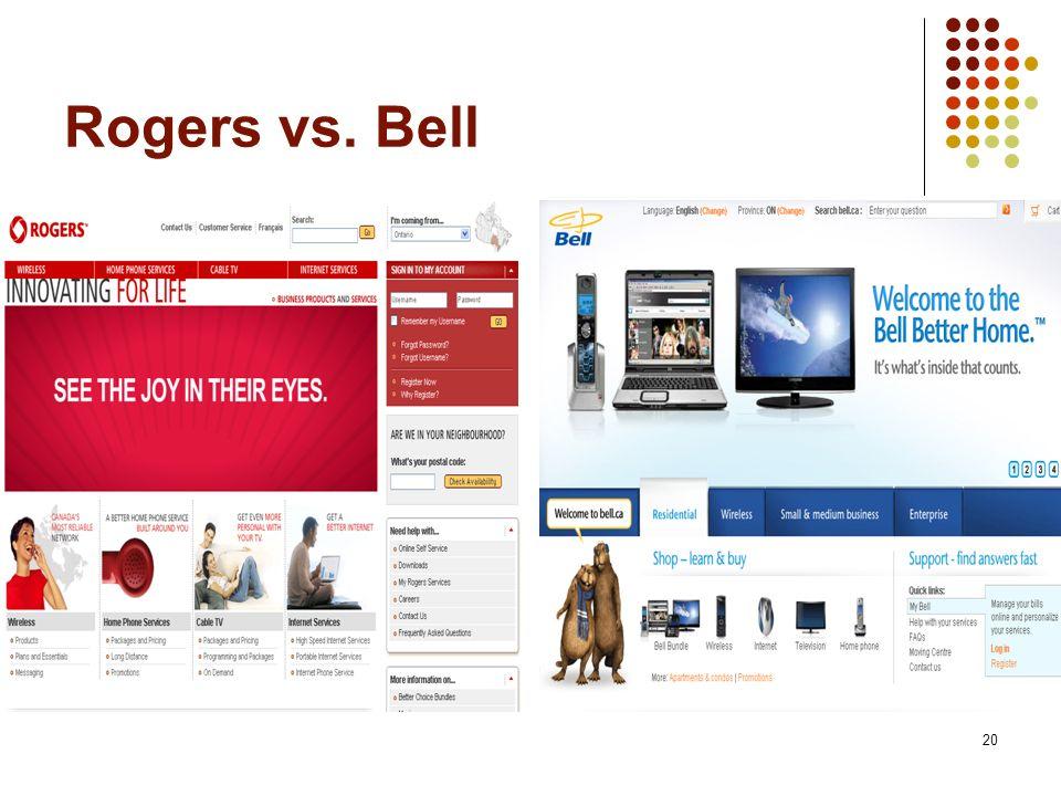 20 Rogers vs. Bell