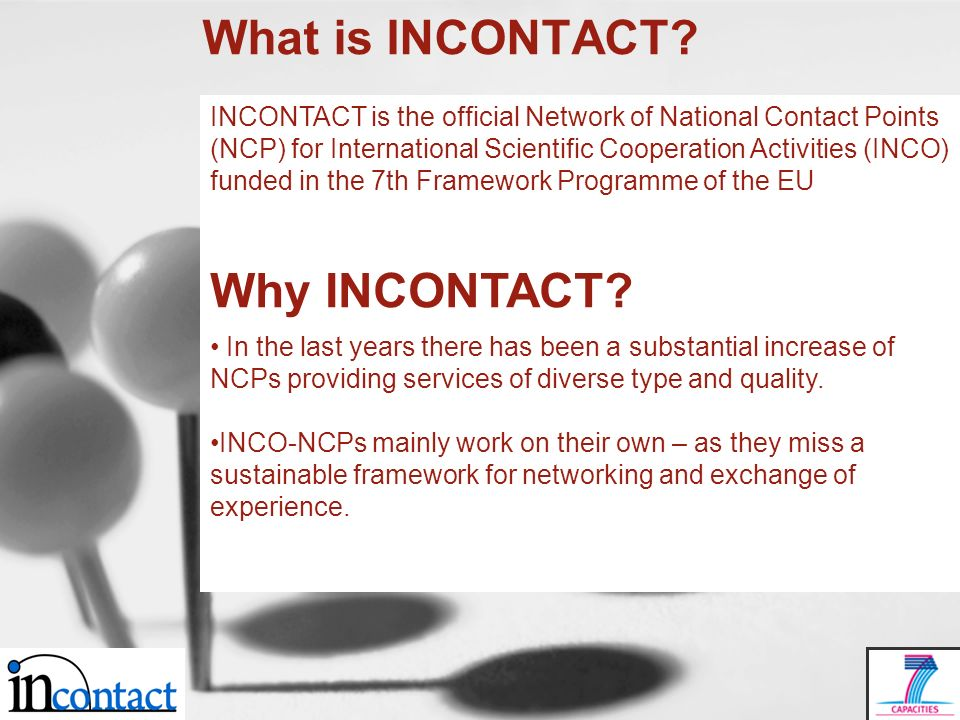 What is INCONTACT.
