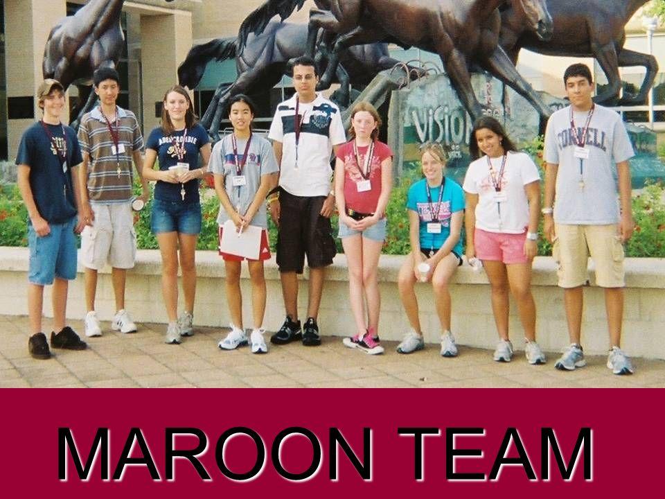 Maroon Team MAROON TEAM