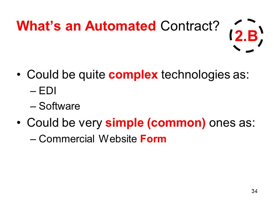34 Whats an Automated Contract.