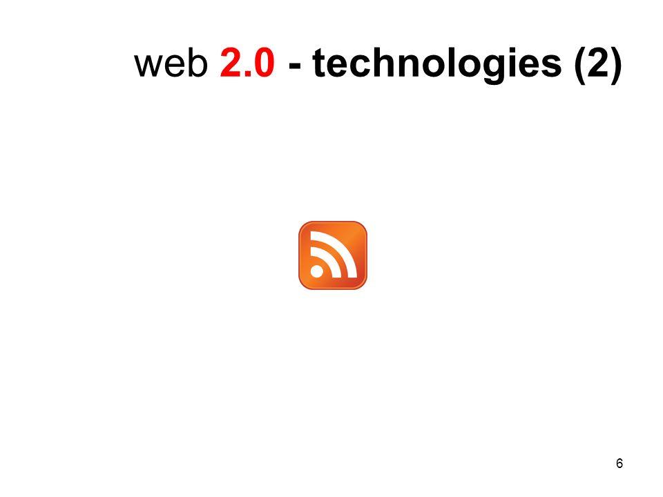 6 web 2.0 - technologies (2)