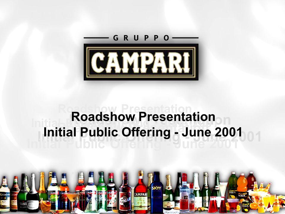Roadshow1 Roadshow Presentation Initial Public Offering - June 2001 Roadshow Presentation Initial Public Offering - June 2001 Roadshow Presentation In