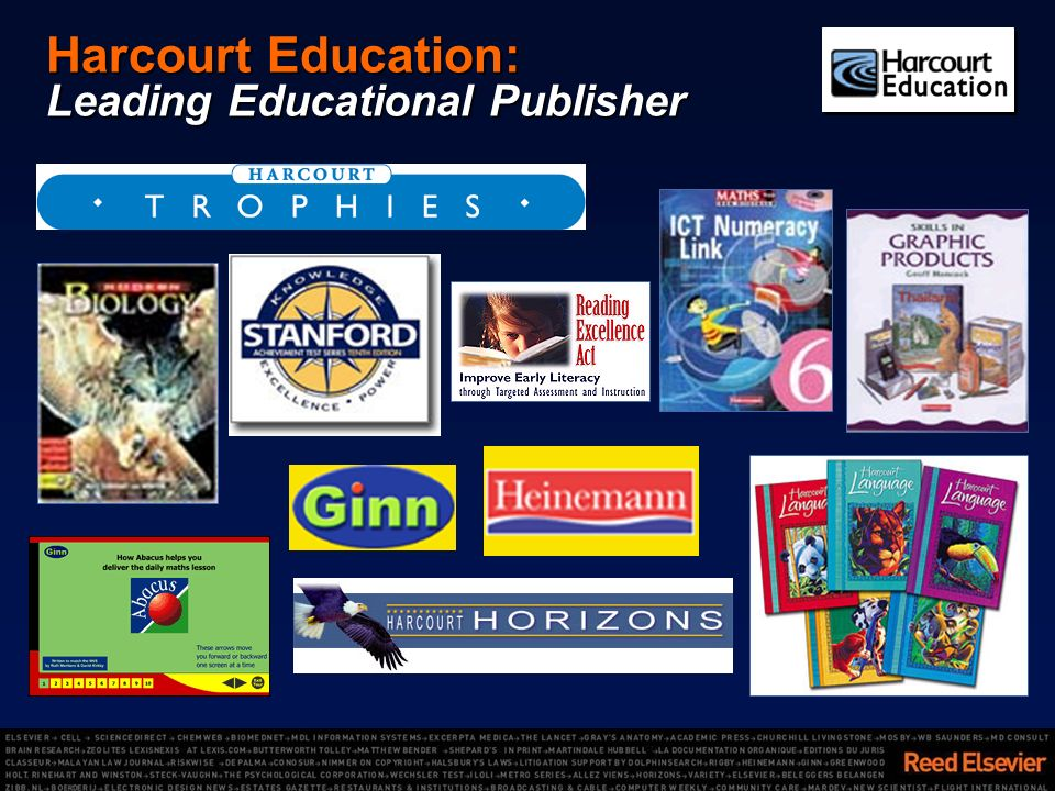 Harcourt Education: Leading Educational Publisher
