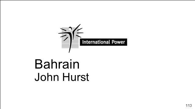113 Bahrain John Hurst