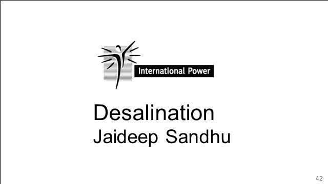 42 Desalination Jaideep Sandhu