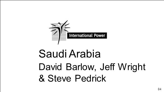 84 Saudi Arabia David Barlow, Jeff Wright & Steve Pedrick