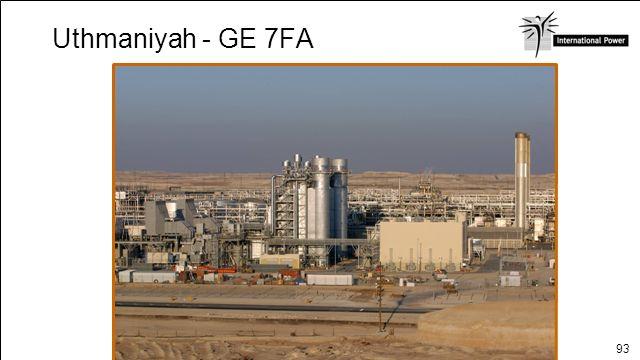 93 Uthmaniyah - GE 7FA