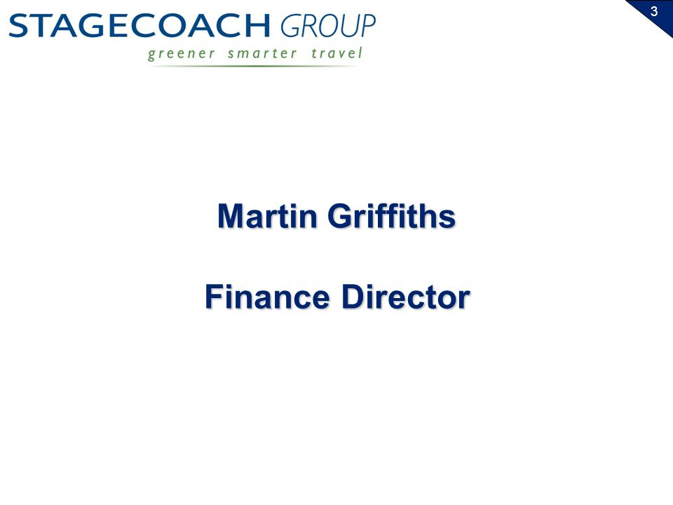 3 Martin Griffiths Finance Director