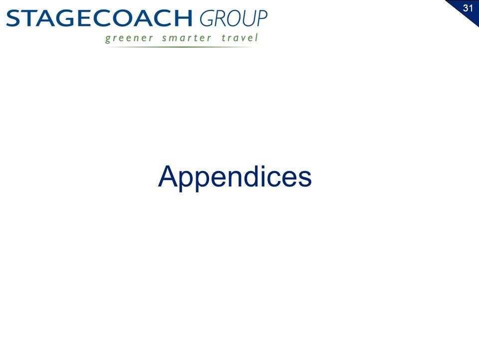 31 Appendices