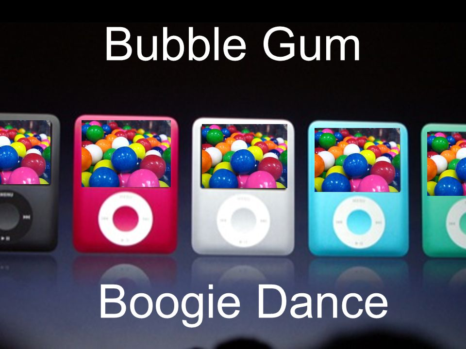 Bubble Gum Boogie Dance