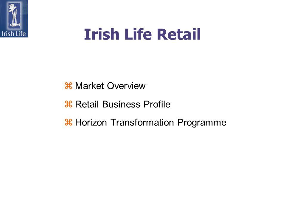 Irish Life Retail zMarket Overview zRetail Business Profile zHorizon Transformation Programme