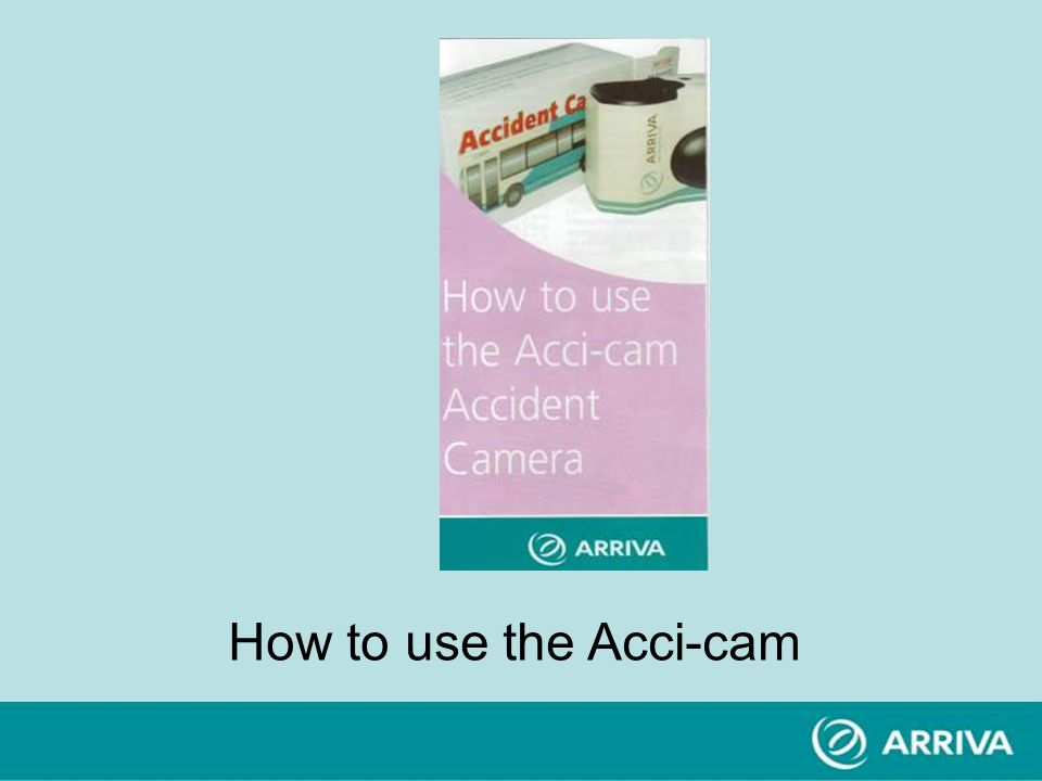 How to use the Acci-cam