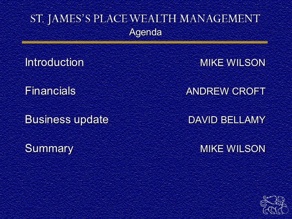 MIKE WILSON Chairman
