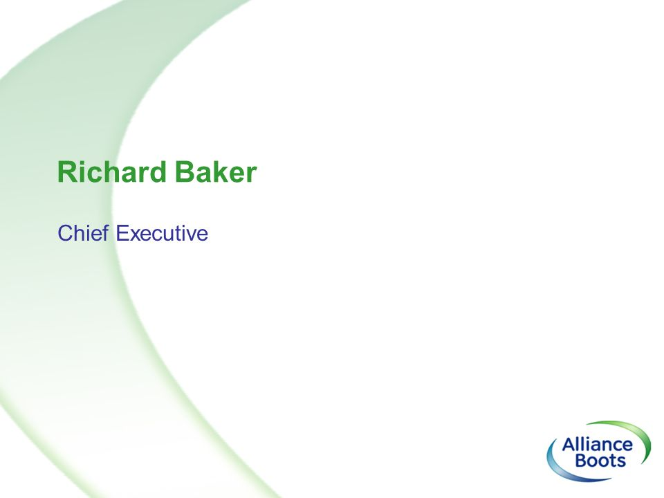 Richard Baker Chief Executive
