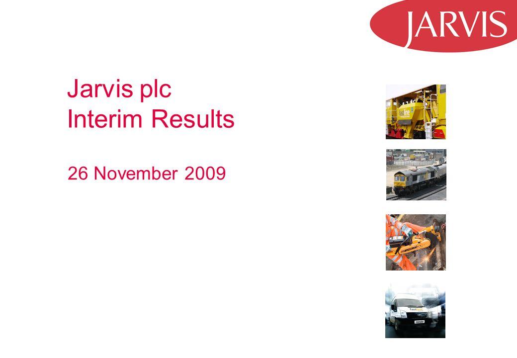 Jarvis plc Interim Results 26 November 2009