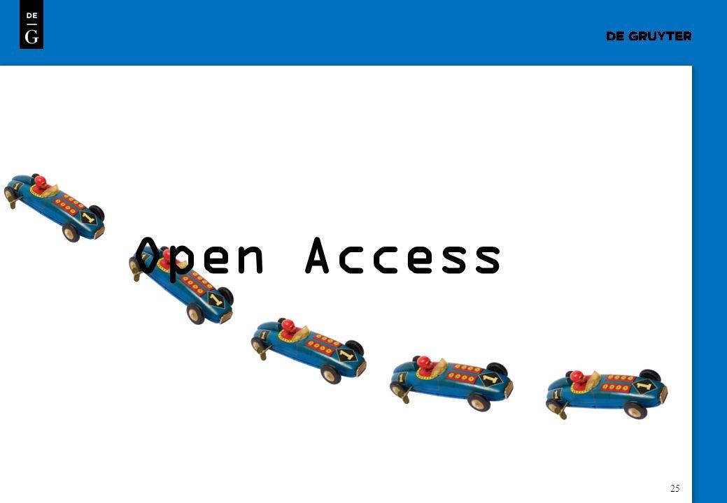 25 Open Access