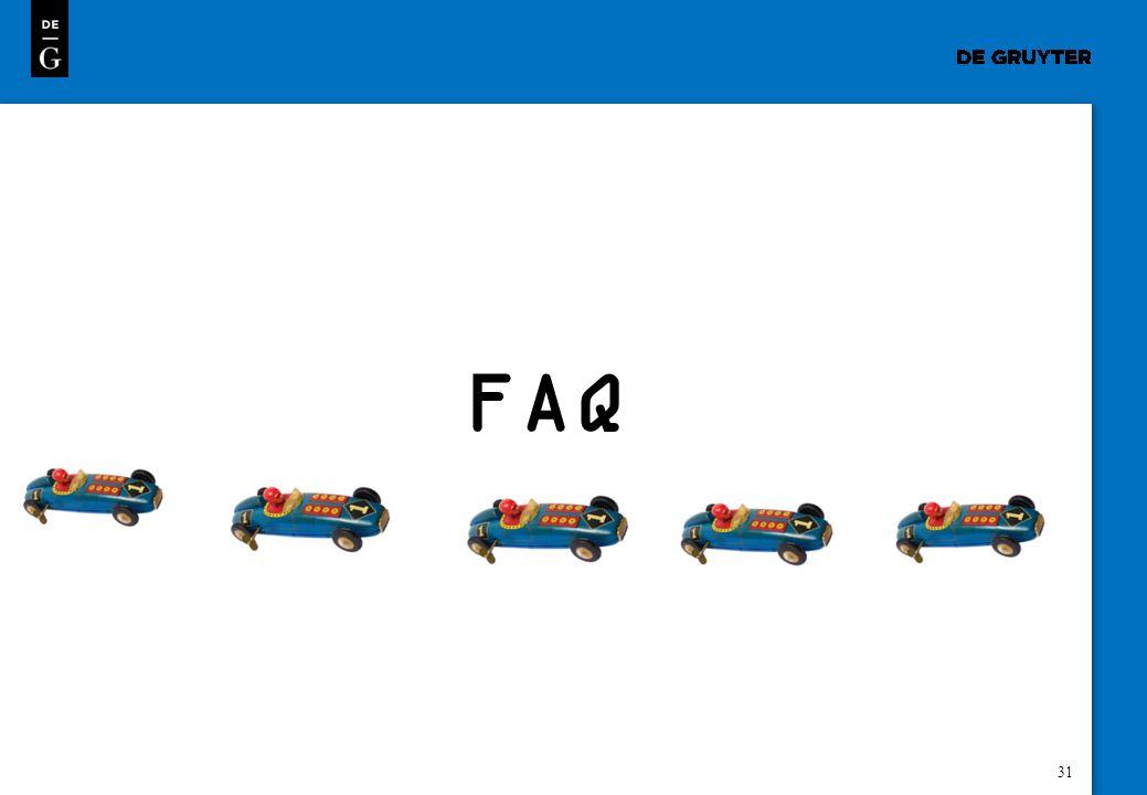 31 FAQ