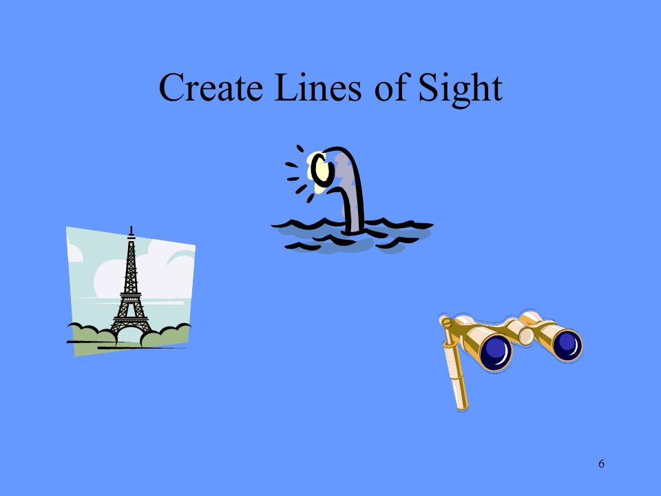 6 Create Lines of Sight