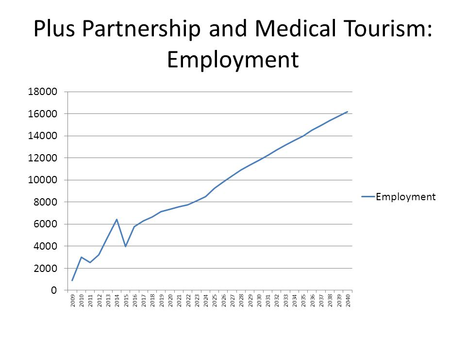 Plus Partnership and Medical Tourism: Employment
