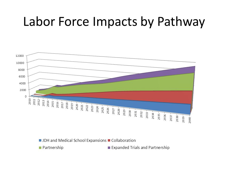 Labor Force Impacts by Pathway