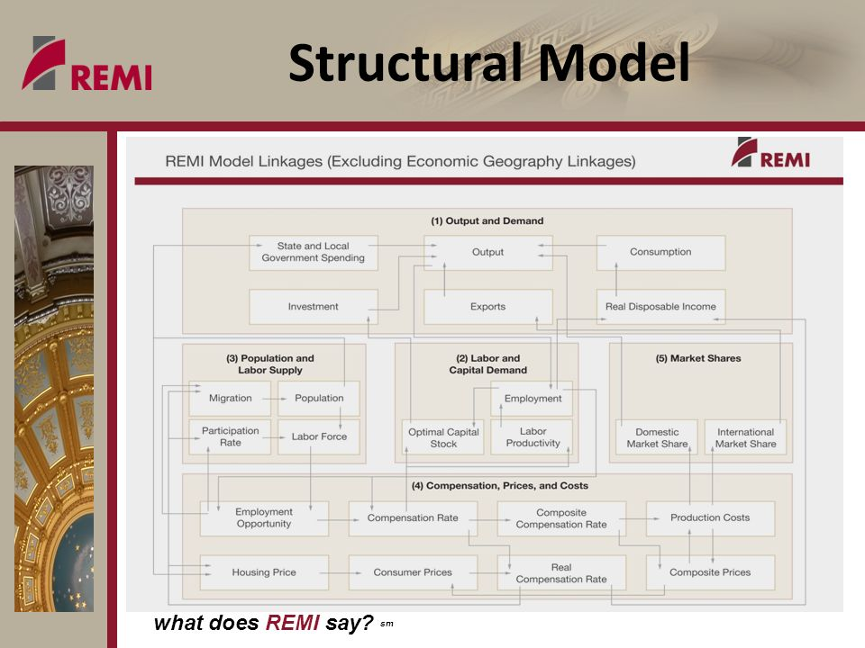 what does REMI say sm Structural Model