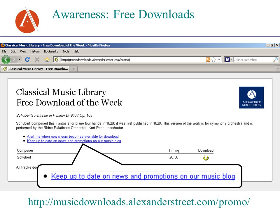 Awareness: Free Downloads