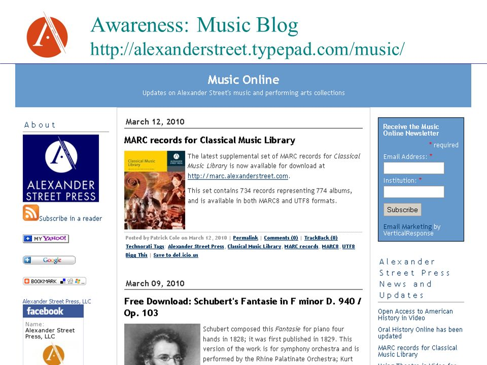 Awareness: Music Blog