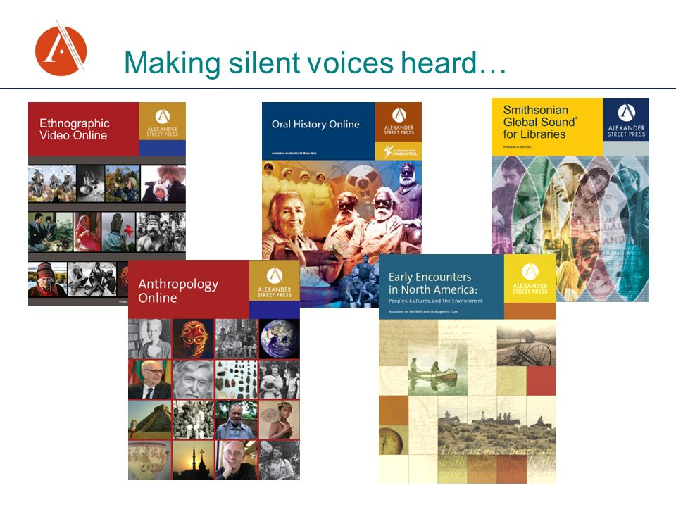 Making silent voices heard…