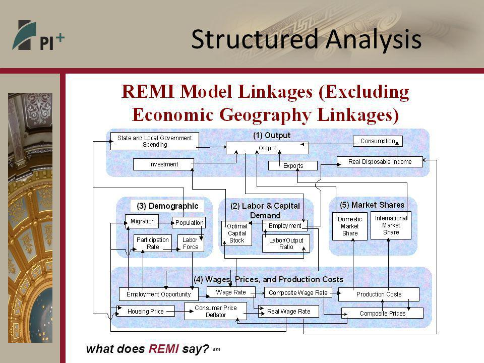 what does REMI say sm Structured Analysis