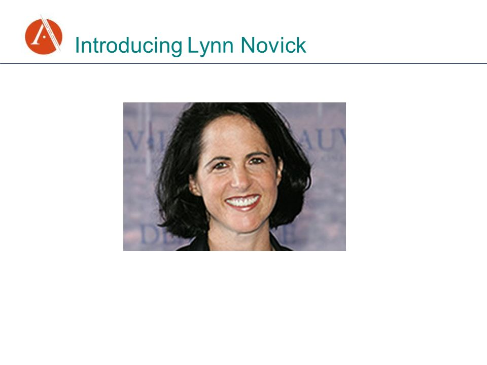 Introducing Lynn Novick
