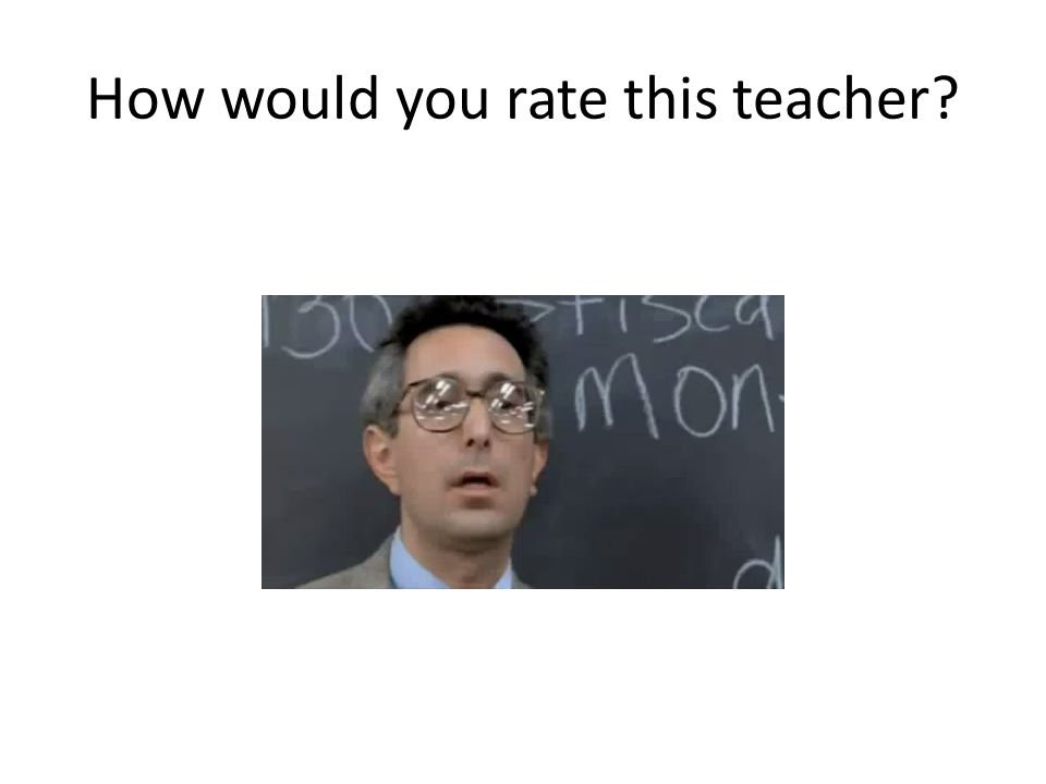 How would you rate this teacher?