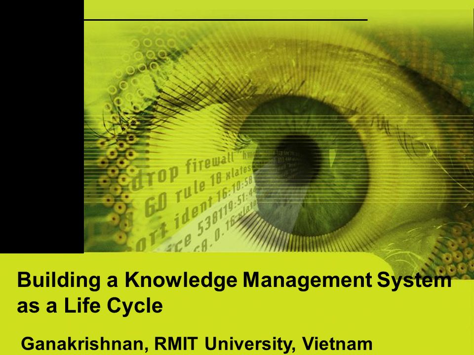 2 Objective viewed as a lifecycle that begins with a master plan and ends with a system structured to meet Knowledge Management requirements for the entire company This paper examines the usefulness and value in building a Knowledge Management System as a Life cycle in enterprise resource planning (ERP)