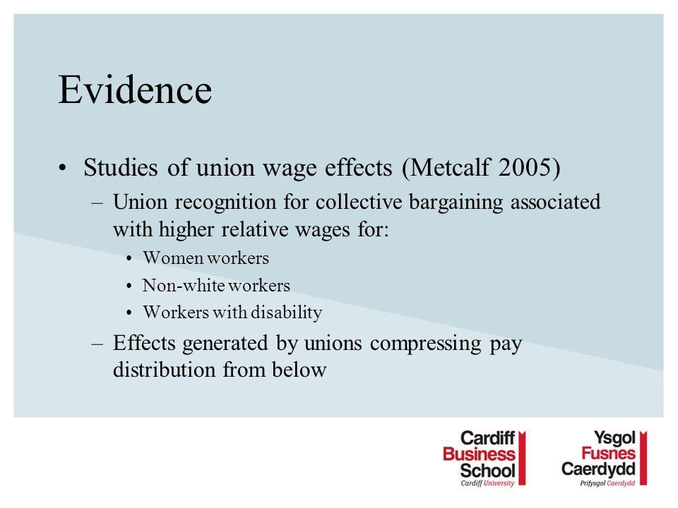 Conditions for equality bargaining Bargainers –Experience, training, specialisation & commitment Unions –Link between bargainers & equality officers & structures Institutions –Centralized bargaining –Formal committees/structures within organizations