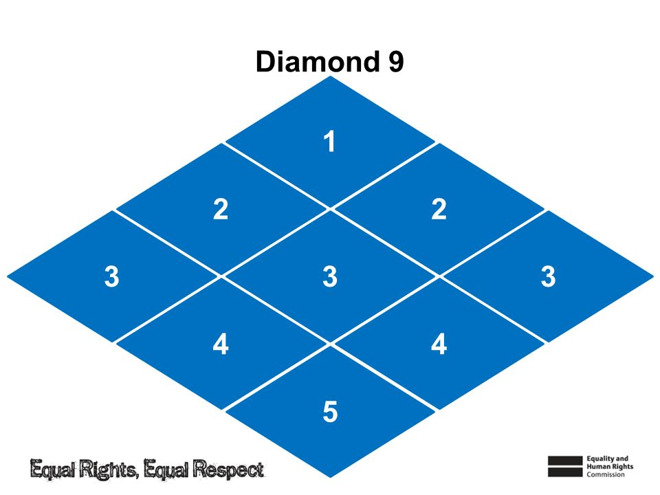 Diamond 9 1 22 5 3 44 33