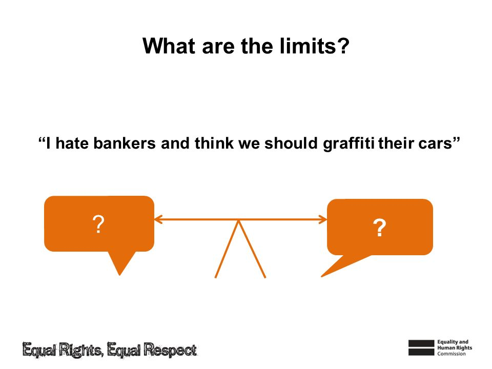 What are the limits? ? ? I hate bankers and think we should graffiti their cars
