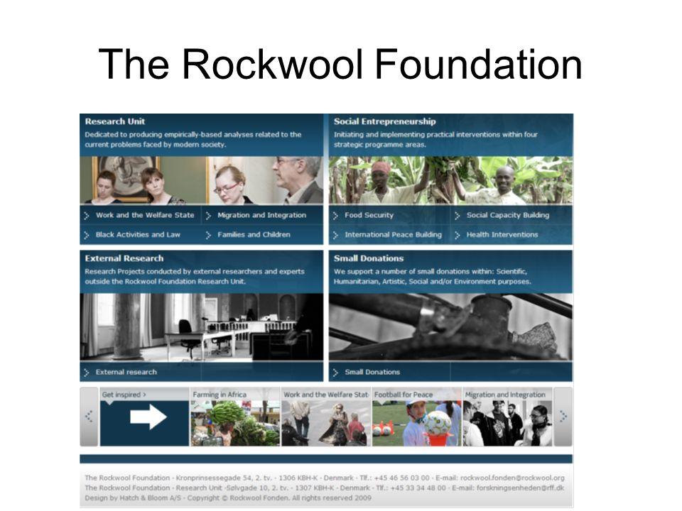 The Rockwool Foundation