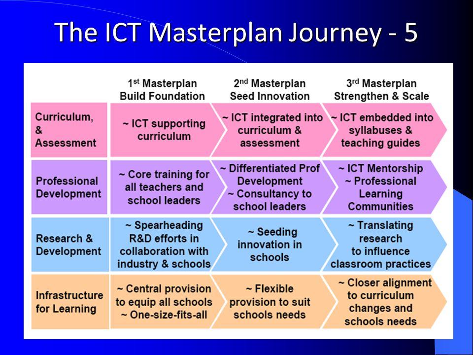 The ICT Masterplan Journey - 5