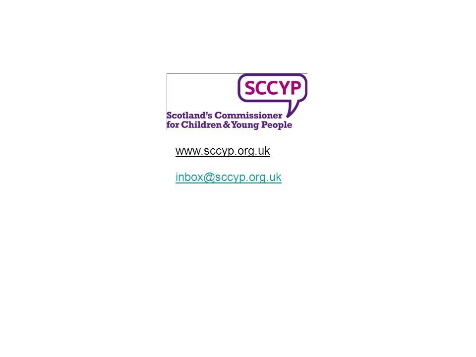 inbox@sccyp.org.uk www.sccyp.org.uk