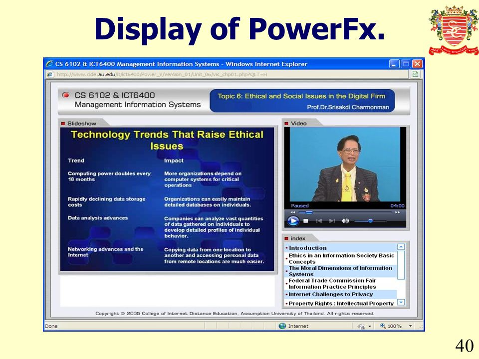 40 Display of PowerFx.