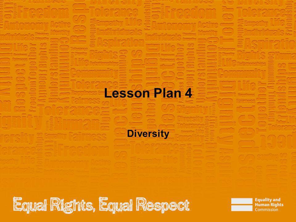 Lesson Plan 4 Diversity