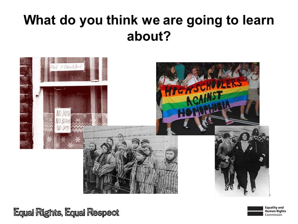 Discrimination Todays learning outcomes: –Understand that some people are treated unfairly because of their characteristics.